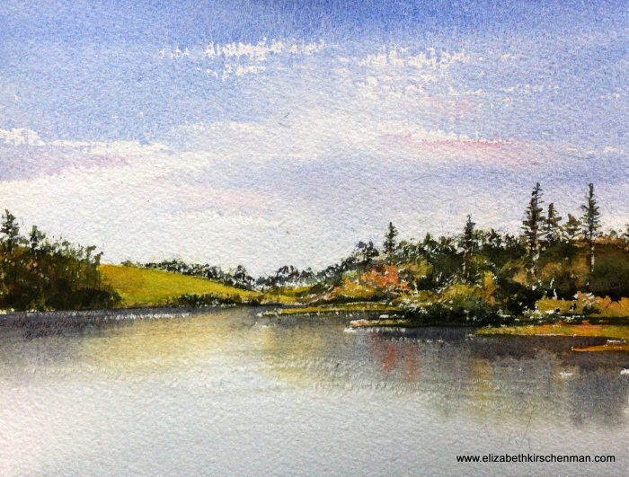 Lough Annaghmakerrig, 2014, 8 s 10.5 ins., lost in 2017 fire