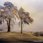Irish Mist 2, 2014, 10.5 x 14.5 ins., sold