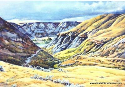 Elizabeth Kirschenman, Down Corner Coulee, card-4