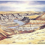 Elizabeth Kirschenman, South Saskatchewan Blues, card