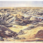 Elizabeth Kirschenman, West of Finnee\'s Lookout, card