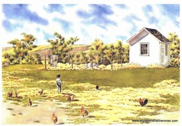 Elizabeth Kirschenman, Chicken Dinner Delivery, card