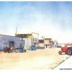 Elizabeth Kirschenman, Prairie Mainstreet, card