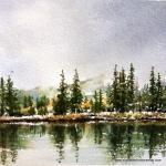 Elizabeth Kirschenman, Quartet, Banff National Park, 2017