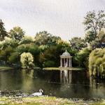 Elizabeth Kirschenman, Apollo Temple, Nymphenburg Castle Lake, Munich, 2016