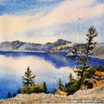 Elizabeth Kirschenman, Crater Lake, 2016