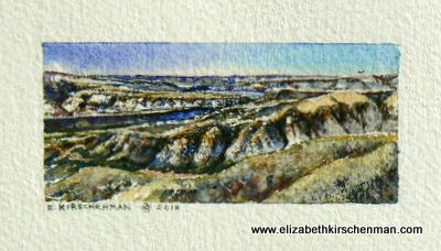 Coulee Crest , 1 1/2 x 3 1/4 ins.,2012