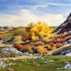 Elizabeth Kirschenman, Cottonwoods, 2015, Sold