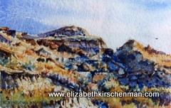 Elizabeth Kirschenman, Prairie Peak, 2009, sold