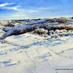 Ellzabeth Kirschenman, Whitetail Territory 3, 2015, sold