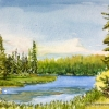 Loch Haven, Cypress Hills, Saskatchewan, 1998