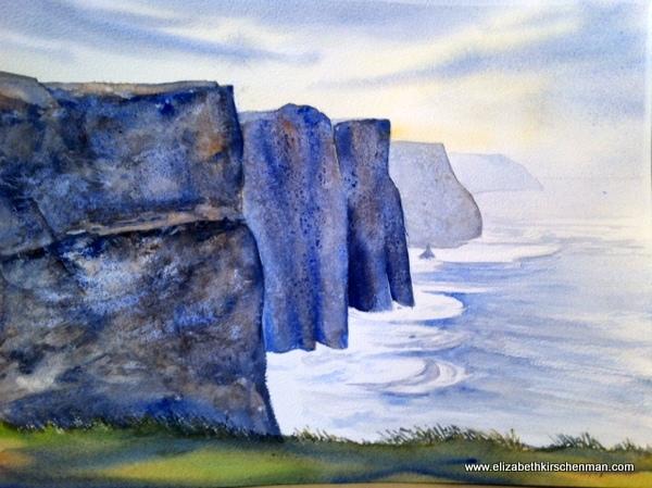 Elizabeth Kirschenman, Cliffs of Mohr, 2013