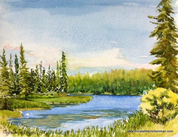 Loch Haven, Cypress Hills, Saskatchewan, 1998