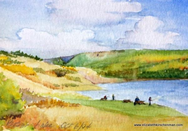 Reesor Lake, Alberta, 1994
