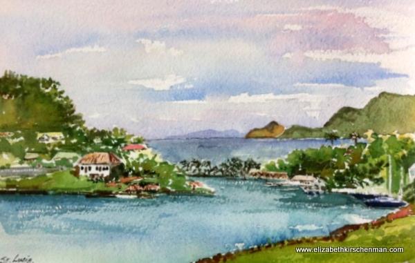 Elizabeth Kirschenman, St. Lucia, 2013