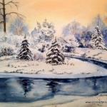 Elizabeth Kirschenman, Winter's Gift, 2013