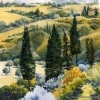 Elizabeth Kirschenman, Trees from Tantafera, 2015