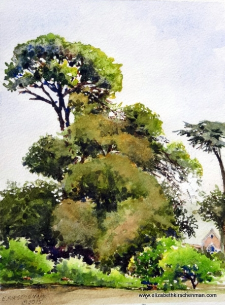 Elizabeth Kirschenman, In Corsini Gardens, 2015